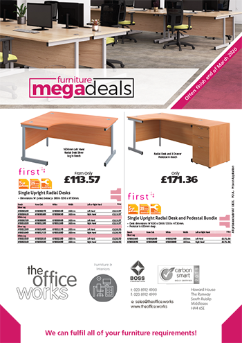 Furniture Mega Deals - Q1 2020