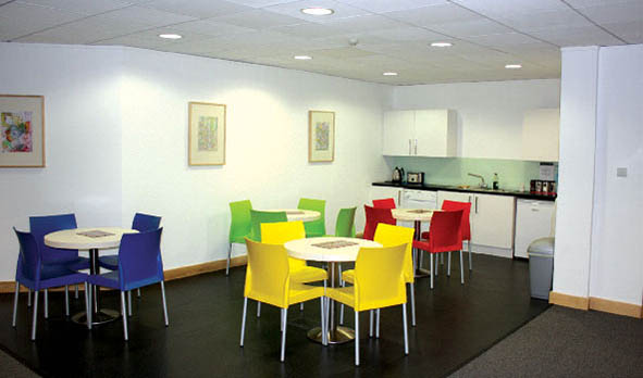 New office canteen